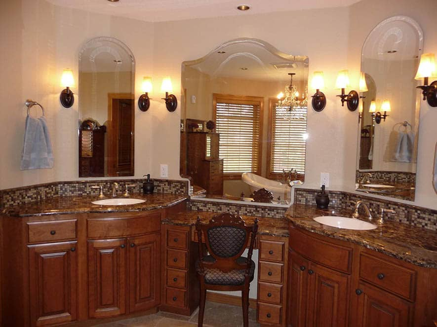 Custom Bathroom Vanities Portland Oregon portland tile contractor, flooring, bath/shower, counter-tops, more!