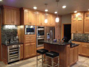 kitchen appliance wall