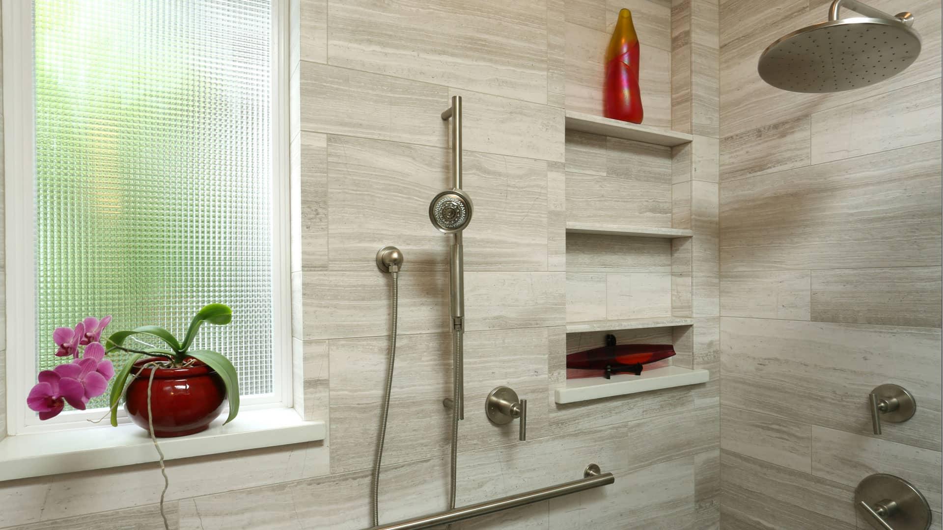 Portland OR Bathroom Remodel, Tile, Shower, Handicap Access | C&K