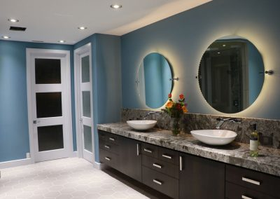 forest height custom master bathroom remodel by ck custom remodeling